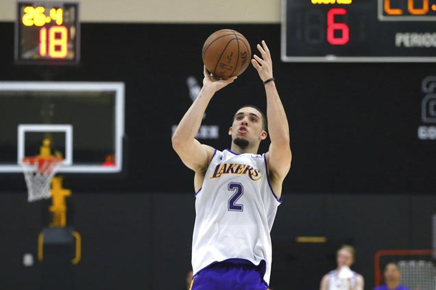 LiAngelo Ball, four other draft hopefuls work out with Lakers