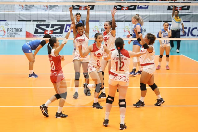 Resurgent Petro Gazz beats Pocari Sweat in four sets to complete hat-trick of PVL wins