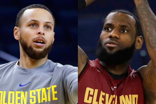 LeBron scoffs at suggestions annual Cavs-Dubs title matchup bad for basketball