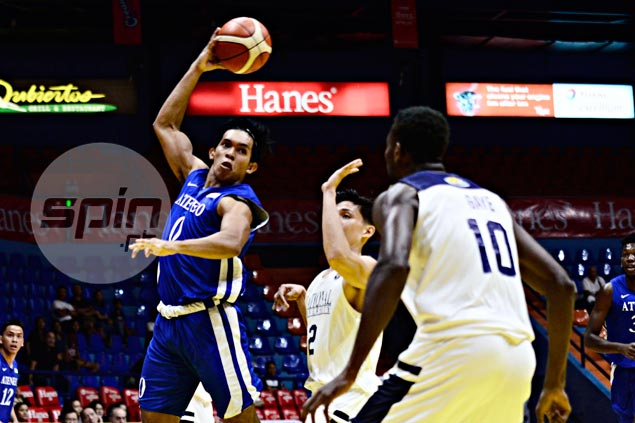 Reinvigorated after Baler camp, Ateneo deals NU a 34-point beating in Filoil Cup