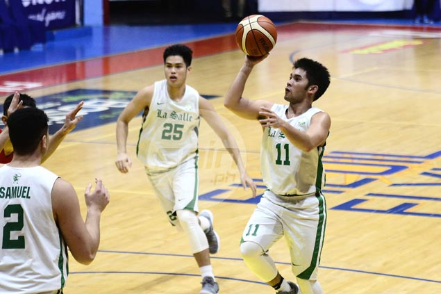 La Salle overcomes Exie Biteng barrage with comeback over Mapua to stay unbeaten in Filoil Cup