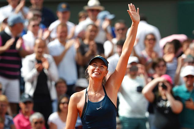 Two-time French Open champion Maria Sharapova issues reminder at Roland Garros
