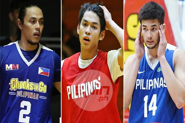 Romeo, Paras, Rivero in line for team-up in Gilas side bound for Asian Games