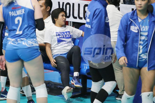 Setback for Pocari Sweat as Wendy Semana feared out for PVL conference due to injury