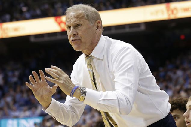 Michigan Wolverines coach John Beilein interviewed for Pistons job