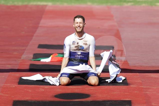 Nick Baldwin, Liz Blatchford rule Ironman Philippines