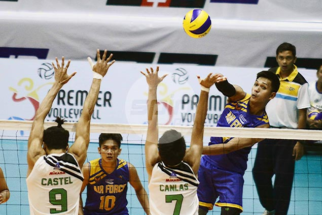 Ran Abdilla shows way as Air Force beats IEM in four to stay on track for PVL semifinals