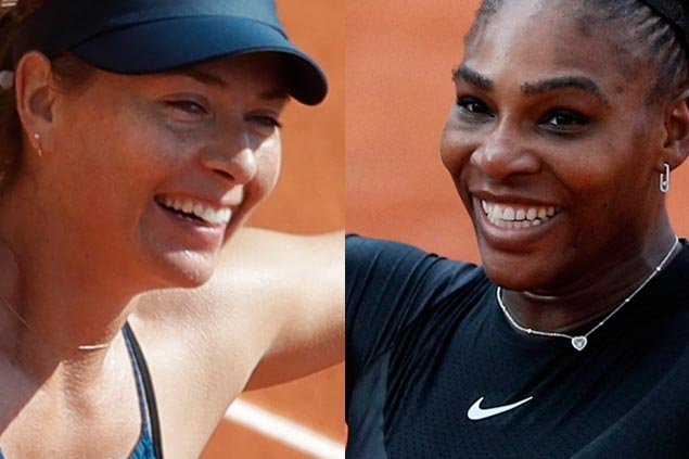 Maria Sharapova, Serena Williams arrange duel in Round of 16 at Roland Garros