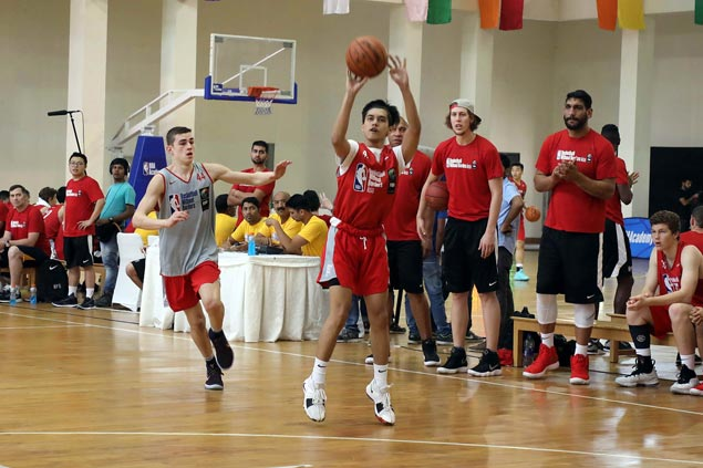 Forthsky Padrigao earns MVP honorsin Basketball Without Borders Asia camp