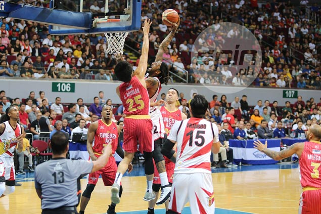 Fajardo saves day as San Miguel heaps more misery on Ginebra with overtime victory