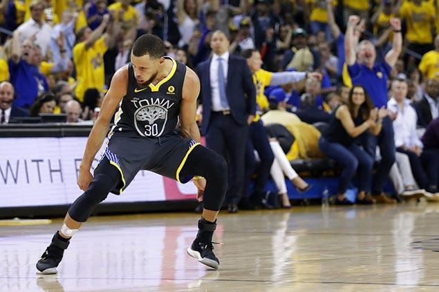 Green salutes 'big shot taker, big shot maker' Curry as Dubs go up 2-0 in NBA Finals