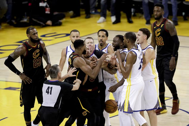 NBA Finals emotions running high and play getting physical, but Silver is fine with that
