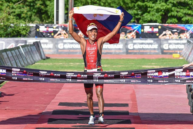 Benedicto overcomes major bumps on road to bolster status as best Filipino Ironman