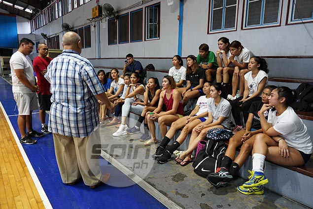 PH volleyball team aspirants stay the course despite sudden coaching change