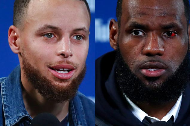 Curry, LeBron say neither Warriors nor Cavs want White House invite