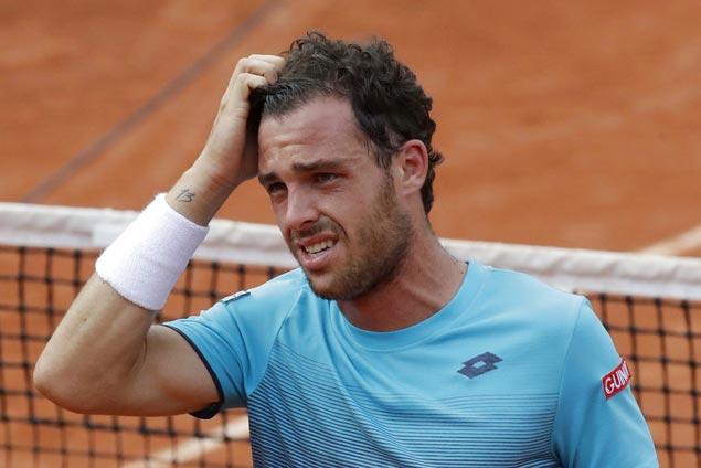 Marco Cecchinato, ranked No. 72, gains semis with four-set shocker over Novak Djokovic