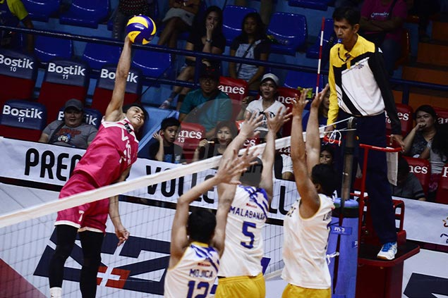 Vice Co overcomes Air Force in error-filled match to gain share of PVL lead