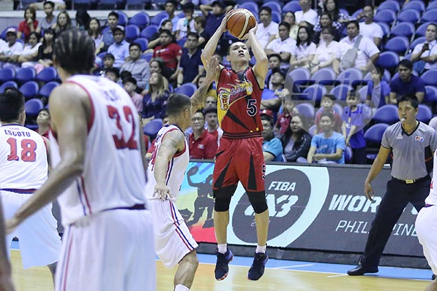 Cabagnot urges resurgent Beermen to stay grounded: 'Can't get too high, can't get too low'