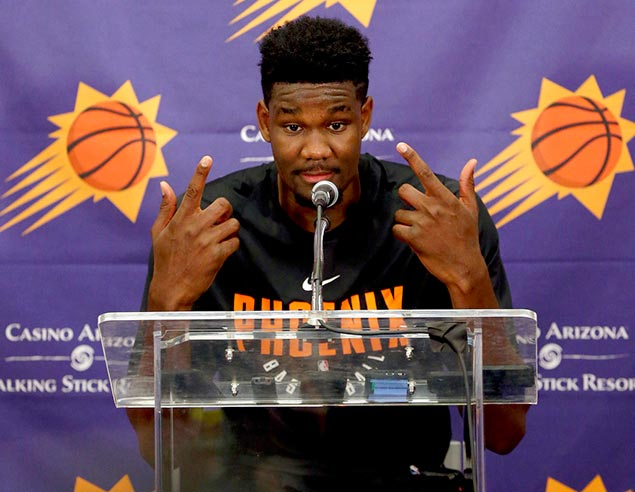 Deandre Ayton confident Phoenix will pick him in NBA Draft: 'I know I'm going No. 1'
