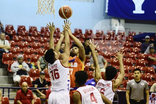 Gab Banal seizes spotlight as Go for Gold squeaks past AMA for back-to-back D-League wins