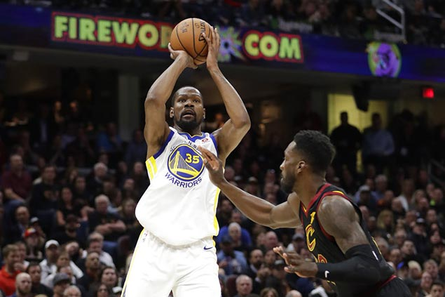 KD's Game 3 trey was deeper than his dagger a year ago — and it cut deeper as well