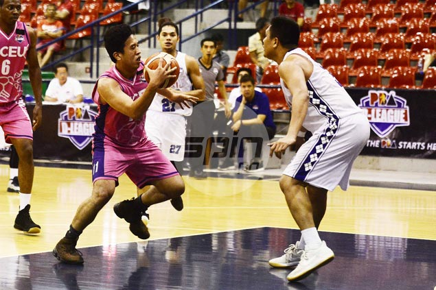 CEU tastes immediate success under Derrick Pumaren with rout of Che'Lu