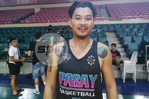 OFW Brian Ilad returns from Dubai for a shot at basketball comeback in MPBL