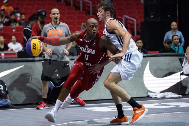 Poland downs Slovenia as top seeds hold on opening day of Fiba 3x3 World Cup