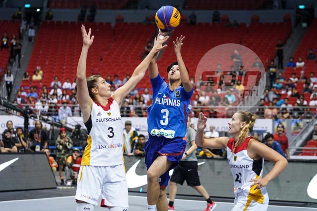 Philippines' gallant stand against tall Germany falls just short in Fiba 3x3 World Cup