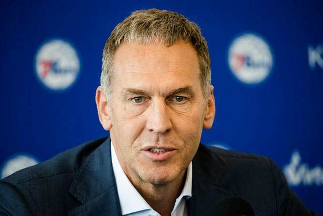 Bryan Colangelo steps down as 76ers president in wake of probe into alleged Twitter accounts