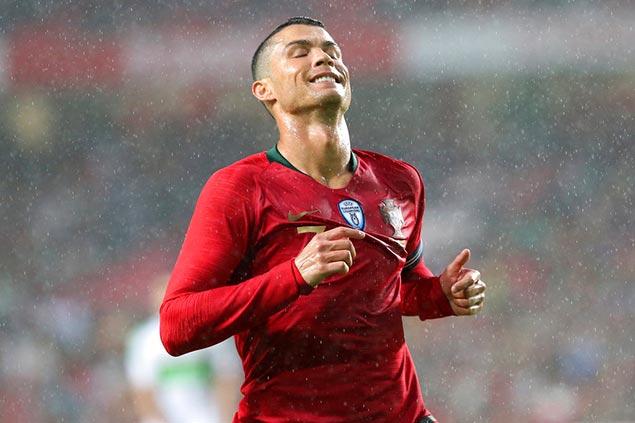 Cristiano Ronaldo returns as Portugal blanks Algeria in friendly before World Cup