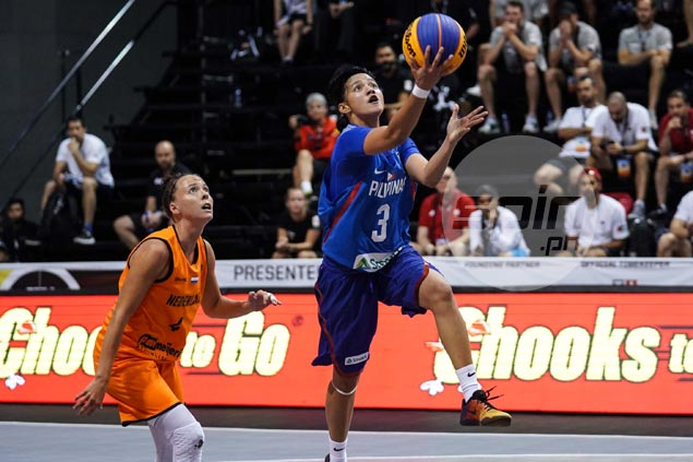 Sweet-shooting Netherlands deal PH women's team a beating in Fiba 3x3 World Cup debut
