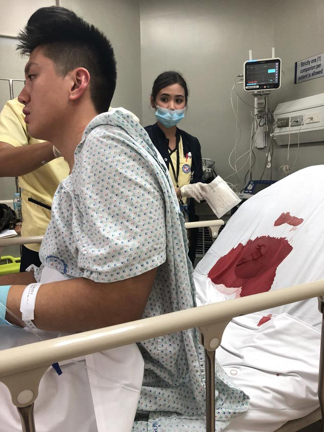 Jeron Teng out of hospital, thankful for support as he recovers from 'near-fatal' stab wounds