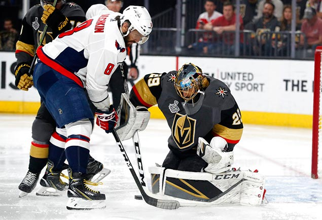 Washington Capitals close out Vegas Golden Knights for first Stanley Cup title in four decades