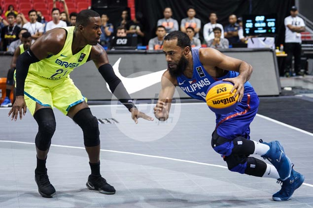 Pringle dazzles as Philippines shocks No. 6 Brazil in rousing Fiba 3x3 World Cup debut