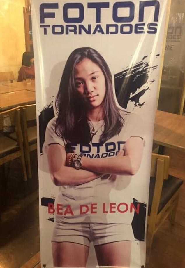 Ateneo spiker Bea de Leon bolsters tall Foton frontline with move to PSL