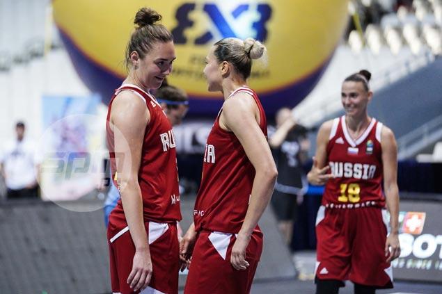 Defending champion Russia, Team USA flex muscles in women's Fiba 3x3 World Cup