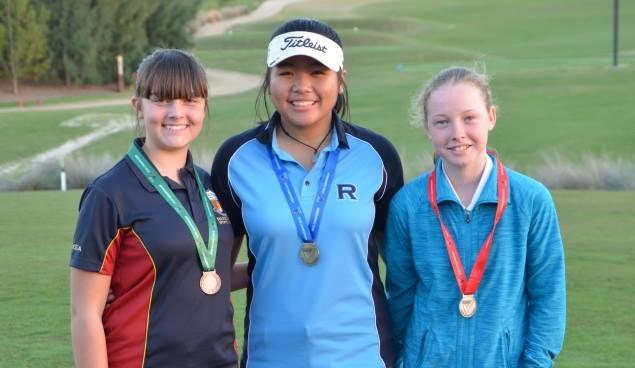 Filipina teen golfer Alessandra Nagayo tops School Sports Victoria Jr State Finals