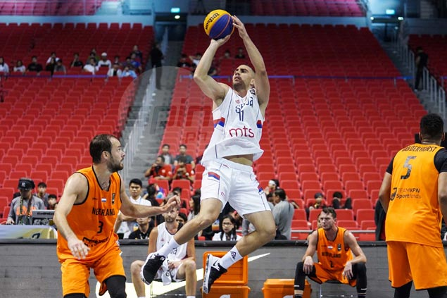 Pumped up by local crowd, Serbian 3x3 star Dusan Bulut wishes to meet hosts in finale
