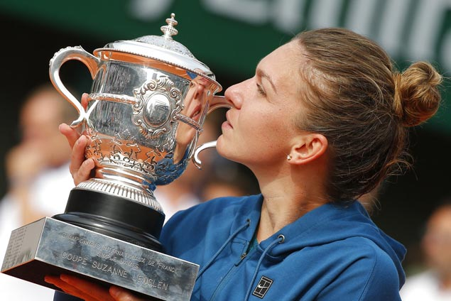 Bridesmaid thrice, Simona Halep finally clinches her first Grand Slam trophy