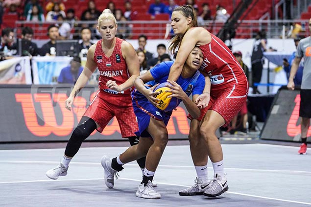 Pinay ballers drop a close one to Hungary at end of Fiba 3x3 World Cup campaign