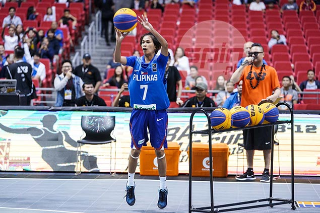 PH bet Janine Pontejos tops first qualifier for Fiba 3x3 World Cup shootout