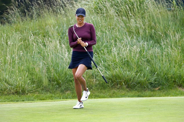 Eagle-aided 63 propels Annie Park to top in NJ for first LPGA title