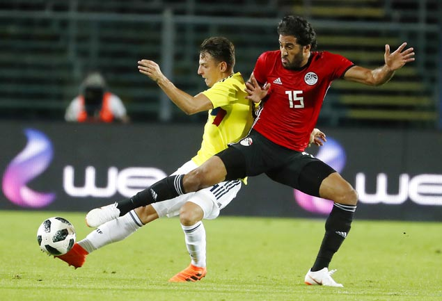 In Mo Salah's absence, Egypt likely to field a forward trio with Marwan Mohsen in the middle