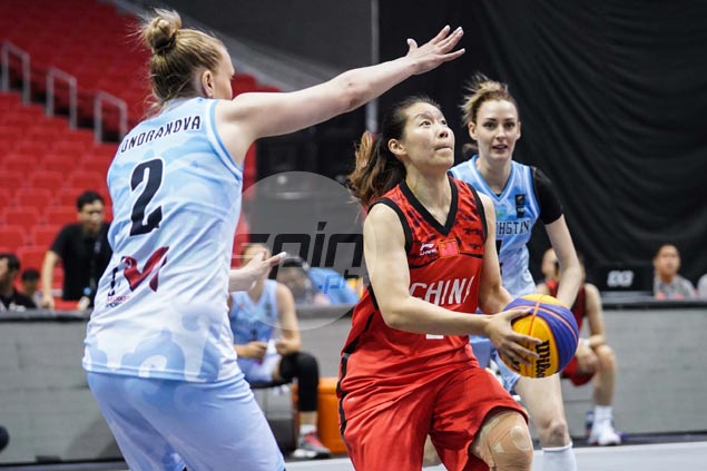 Chinese complete sweep in group play with 18-point rout of Argentina