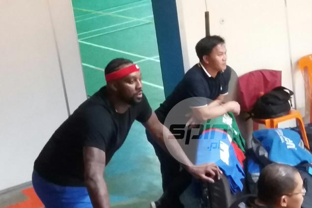 'Early bird' Andray Blatche, Calvin Abueva show up as Gilas out in full force for Aussie rematch