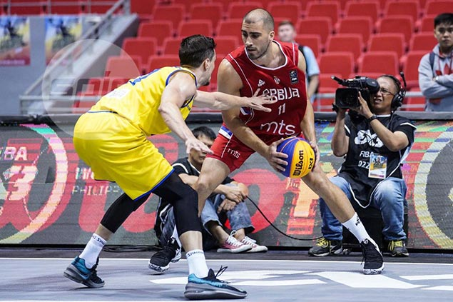 Favorite Serbia remains unscathed as it marches on to Fiba 3x3 World Cup quarters