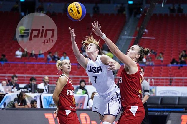 Unbeaten Team USA, Czechs head women's quarterfinal cast in Fiba 3x3 World Cup