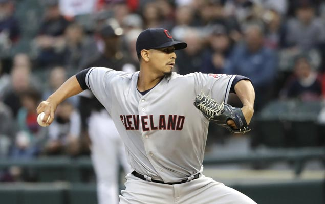 Carlos Carrasco strikes out 11 as Indians blank White Sox