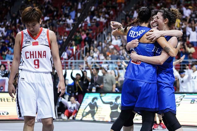 Late Marcella Filippi basket lifts Italy past China and into Fiba 3x3 women's final against Russia
